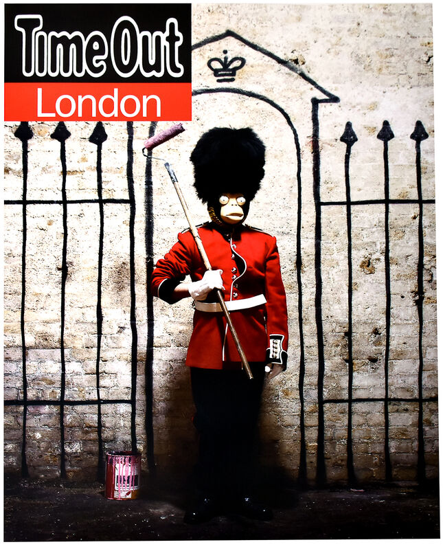Banksy, 'TIME OUT LONDON (Poster)', 2010, Posters, Offset Lithograph Printed in Multi-colors on Satin Paper., Silverback Gallery