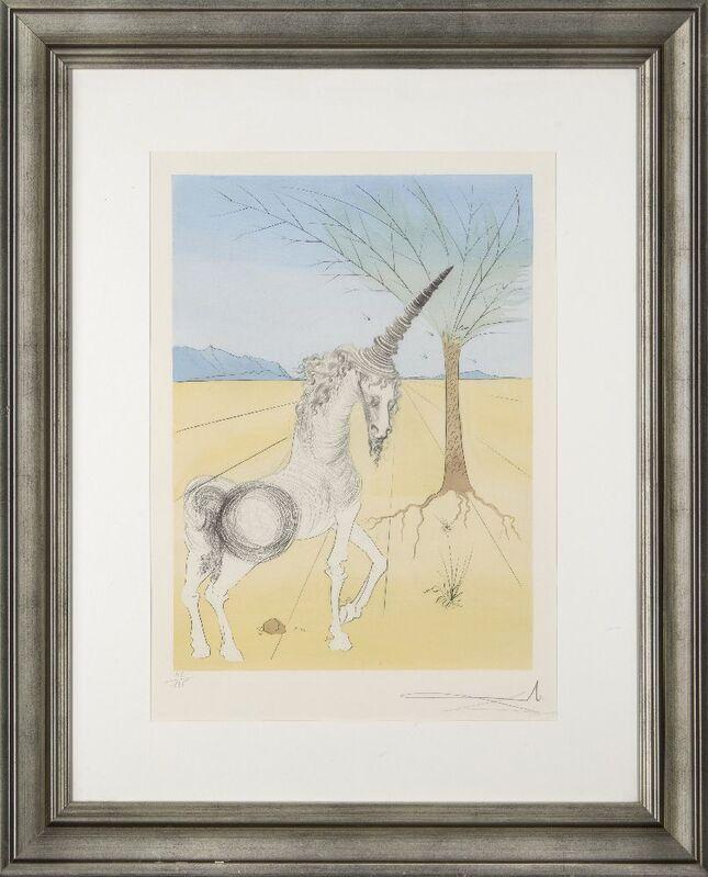 Salvador Dalí, 'Joseph [Michler & Löpsinger 622]', 1973, Print, Drypoint with stencil in colours on wove, Roseberys