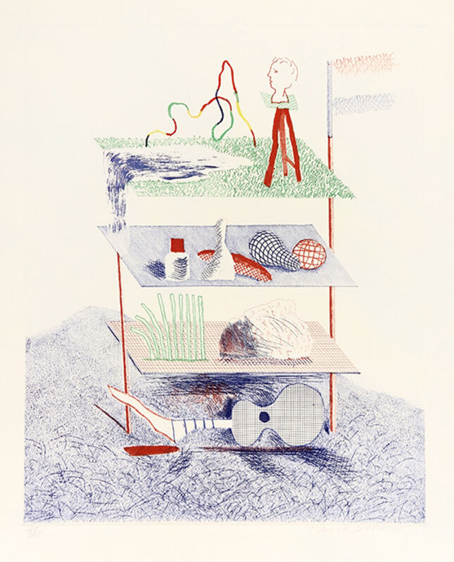 David Hockney, 'Serenade', Not dated, Print, Color etching, Davidson Galleries