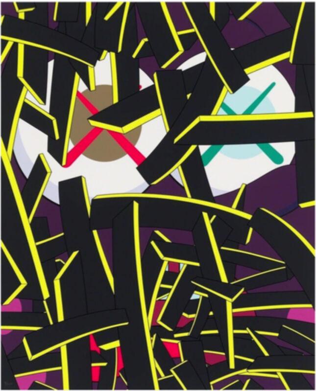 KAWS, 'Paper Smile', 2012, Print, Screen print, Arushi Arts