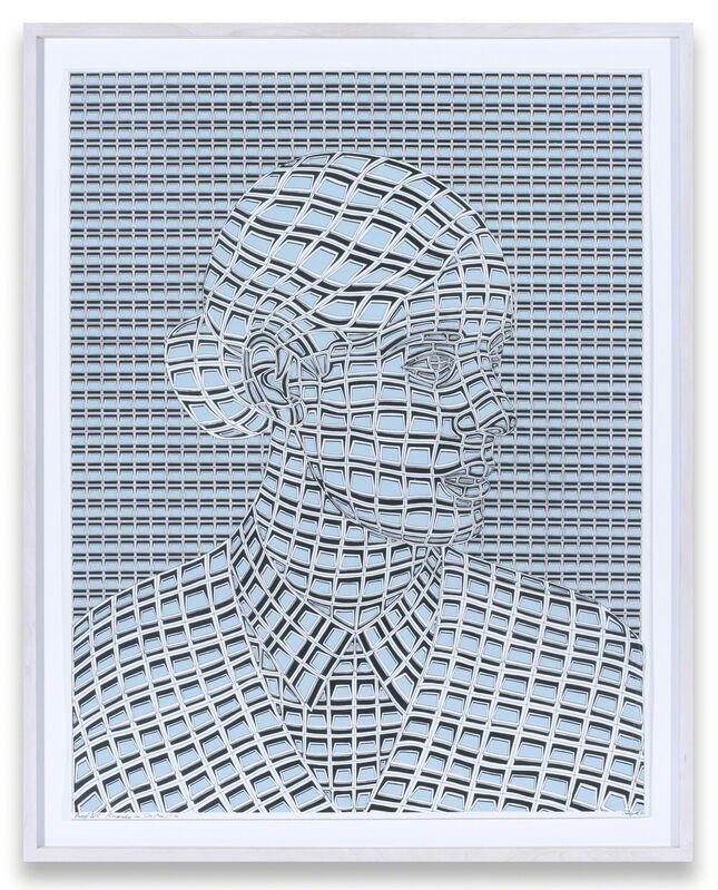 Thomas Bayrle, 'Anarchy in Construction (graue Version)', 1971, Print, Silkscreen print on cardboard, Air de Paris
