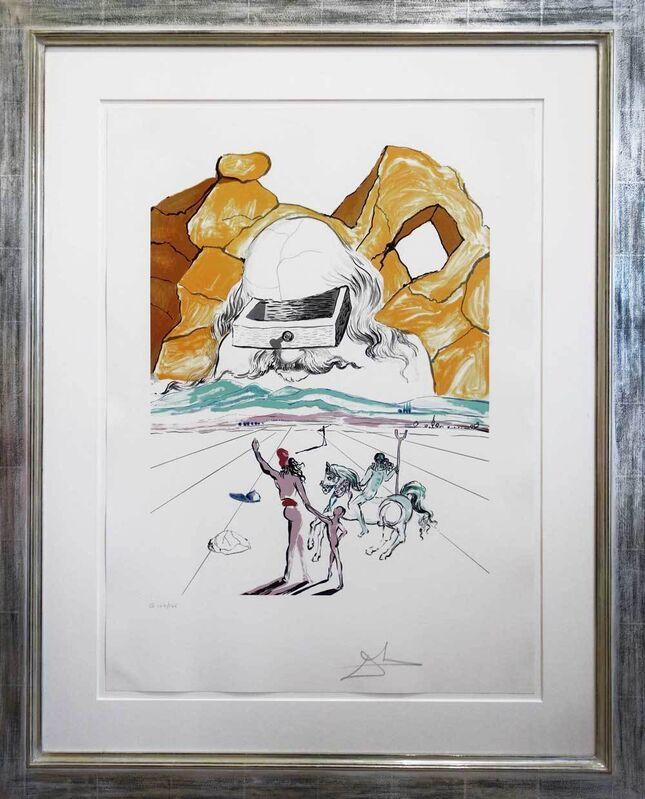 Salvador Dalí, 'Der Pfad zur Weisheit - The Path to Wisdom', 1978, Print, Colored lithograph, Galerie Kellermann