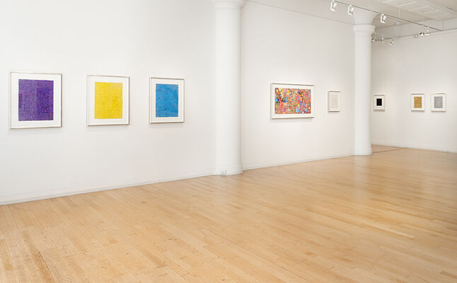 Matt Gonzalez: Derivations in Color, installation view