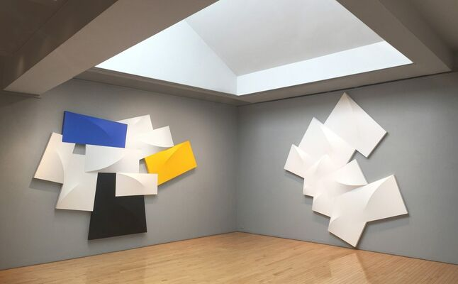 Charles Hinman: Works from the 1980s, installation view