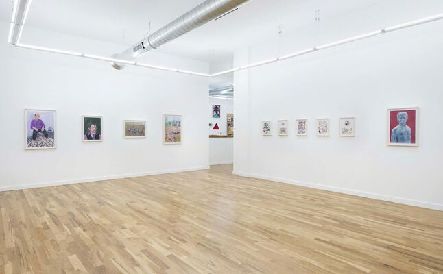 The Dead Know Everything, installation view