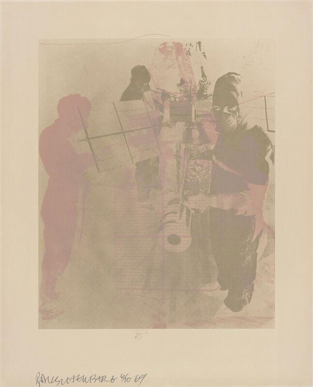Robert Rauschenberg, 'Shell (Stoned Moon)', 1969, Print, Lithograph, San Francisco Museum of Modern Art (SFMOMA)