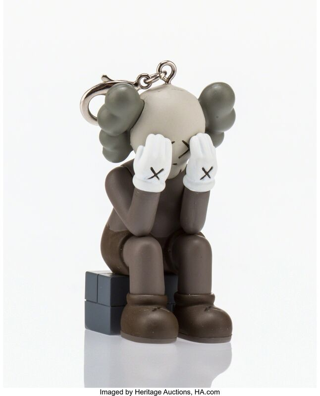 KAWS, 'Companion Passing Through Keychain (Brown)', 2013, Other, Painted cast vinyl, Heritage Auctions