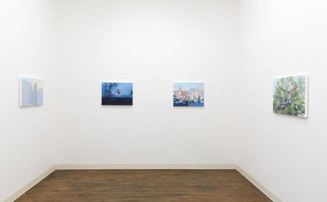 Nathaniel Robinson, Paintings, installation view