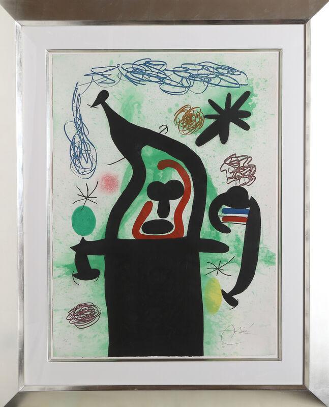 Joan Miró, 'La Harpie', 1969, Print, Etching, aquatint, and carborundum, RoGallery Gallery Auction