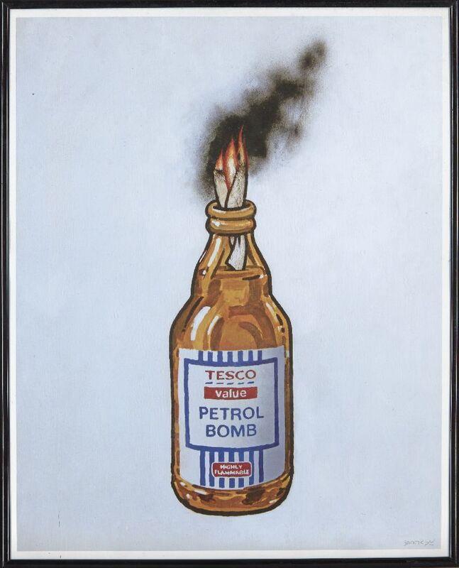 Banksy, 'Tesco Value Petrol Bomb', 2011, Ephemera or Merchandise, Offset lithograph in colours, Roseberys