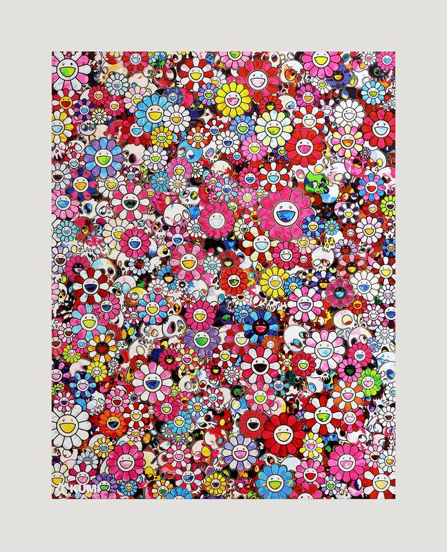 Takashi Murakami, 'Dazzling Circus Embrace Peace and Darkness', 2020, Print, Archival Pigment Print, Kumi Contemporary / Verso Contemporary