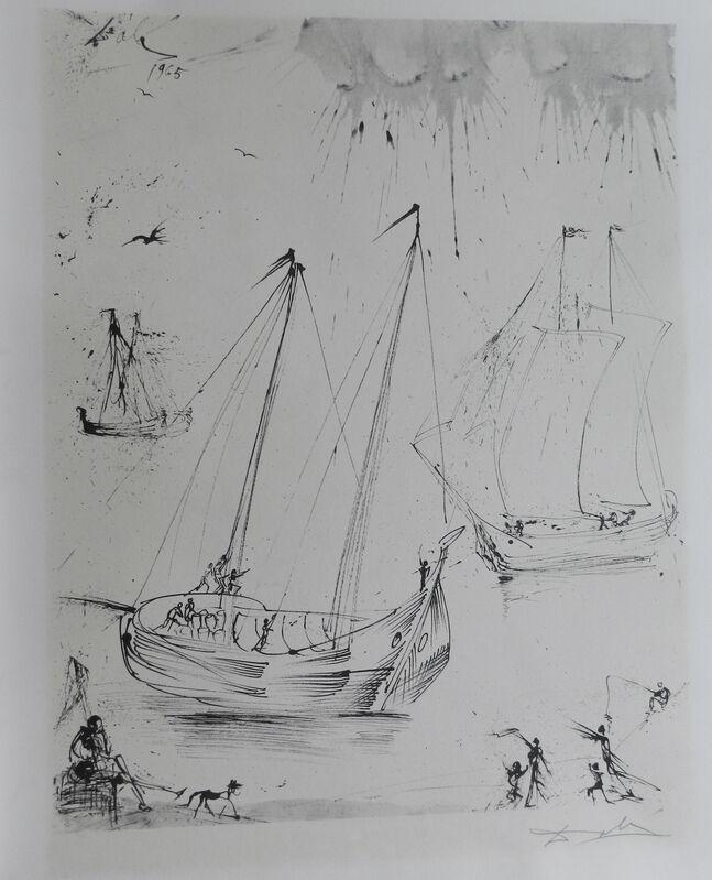 Salvador Dalí, 'The Fisherman', 1965, Print, Lithograph, Fine Art Acquisitions Dali