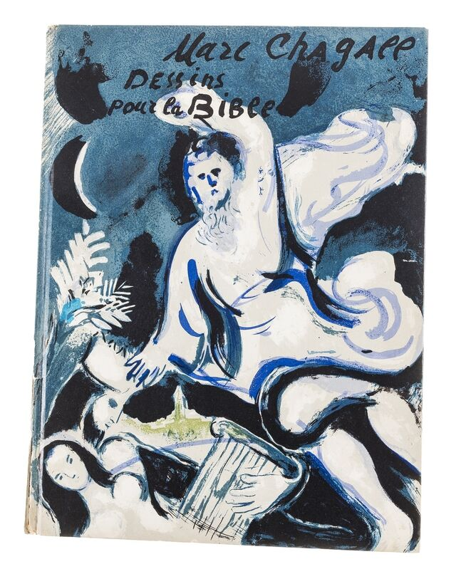 Marc Chagall, 'Untitled', 1961, Books and Portfolios, Pencil crayon on title page of Verve no.37-38, Forum Auctions