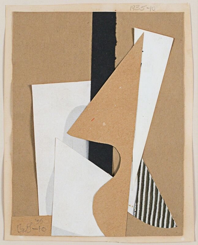 Balcomb Greene, '#10', 1935, Drawing, Collage or other Work on Paper, Collage on paper, Rosenberg & Co.