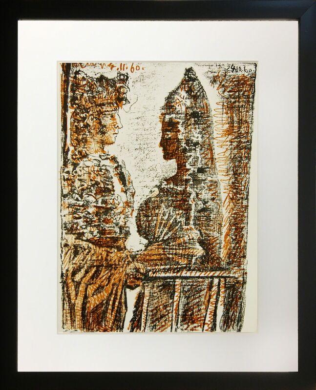 Pablo Picasso, 'Les Carmen des Carmen', 1949, Reproduction, Lithograph on Arches paper, Baterbys
