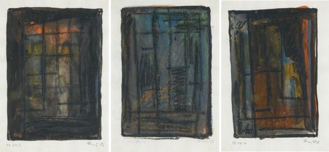 Günther Förg, 'Untitled (Three works)', 1986