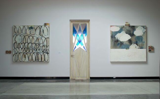 Hola y adiós, installation view