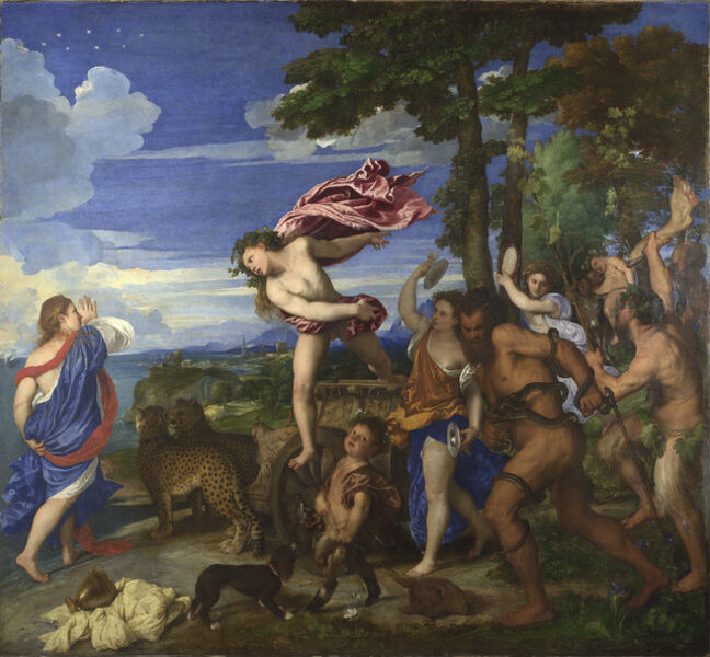 Titian, 'Bacchus and Ariadne', 1520-1523