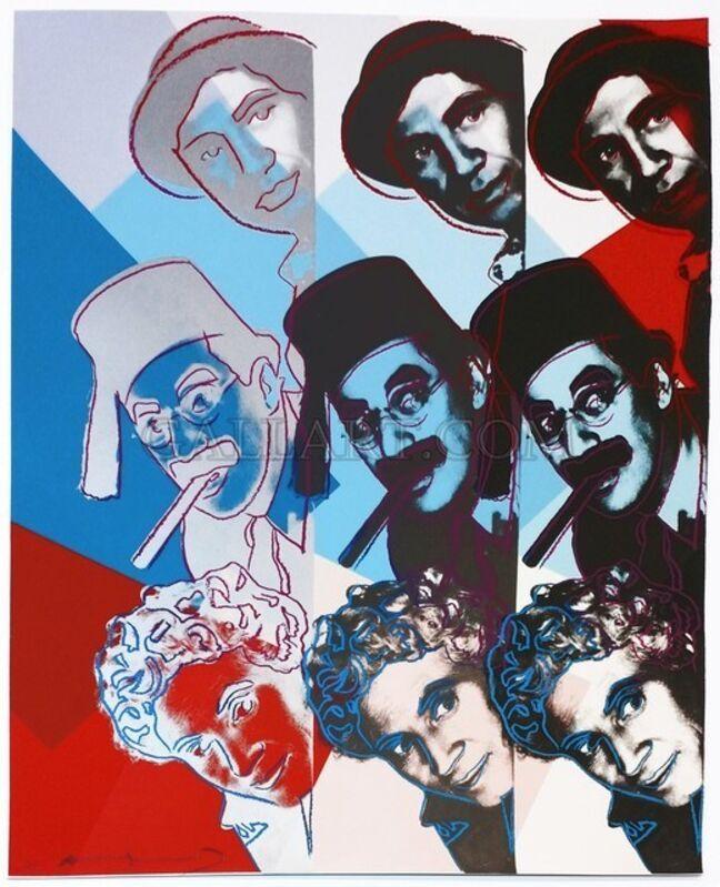 Andy Warhol, 'The Marx Brothers (FS II.232)', 1980, Print, Screenprint on Lenox Museum Board, DANE FINE ART