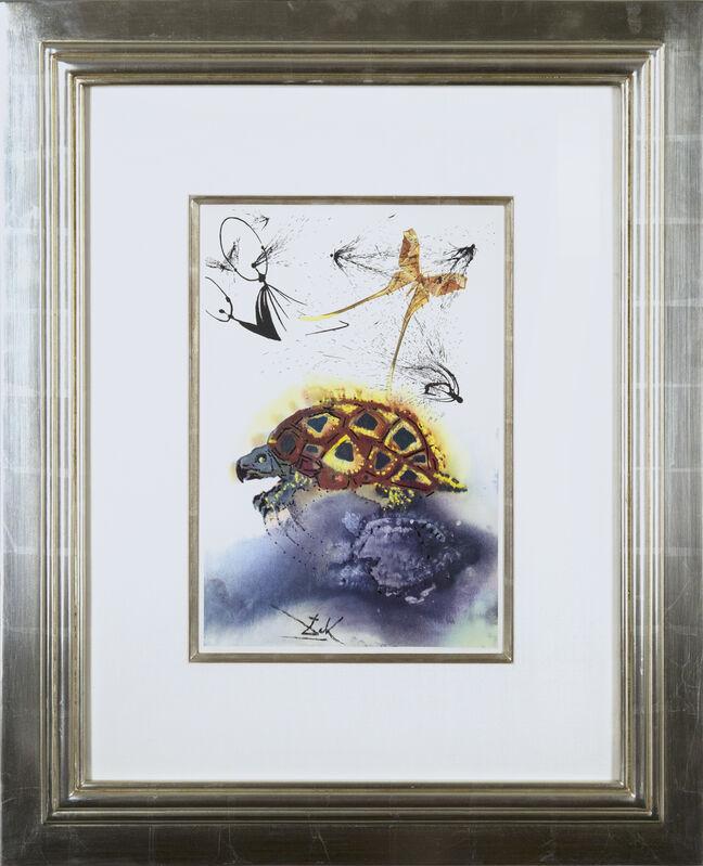 Salvador Dalí, 'Alice's Adventures in Wonderland: The Mock Turtle's Story', 1969, Print, Heliogravure in colors on Mandeure rag paper, Galerie Michael