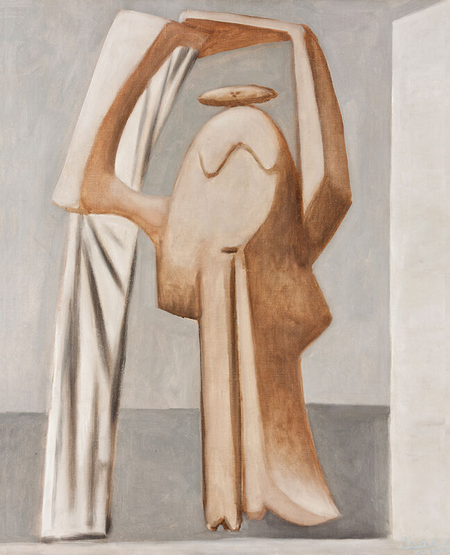Pablo Picasso, 'Female bather with raised arms', 1929, Painting, Oil on canvas, Vancouver Art Gallery