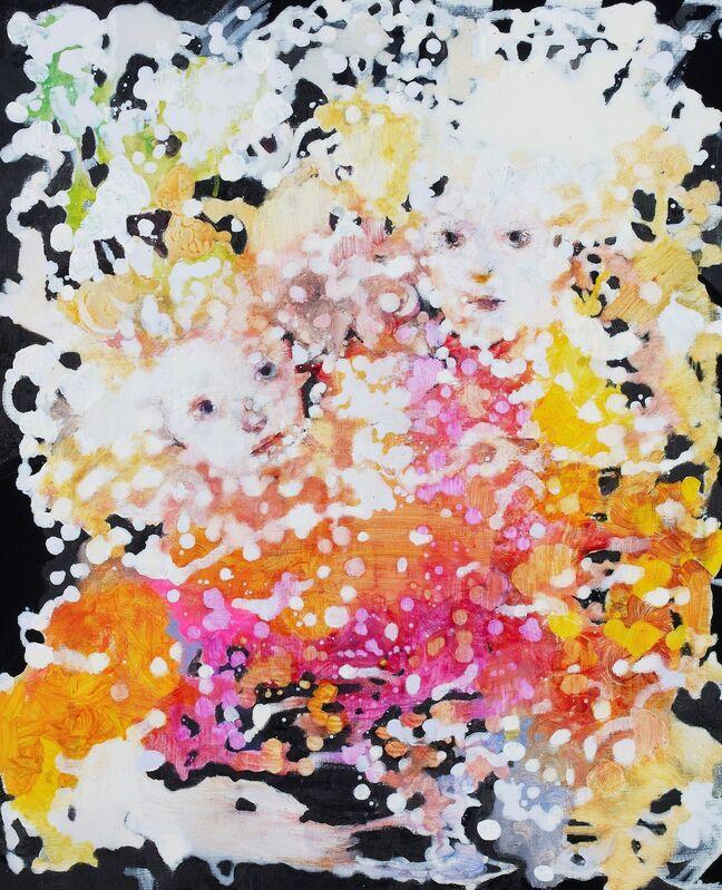 Chisato Tanaka, 'Drowning People', 2015, Painting, Acrylic and oil on canvas, Kobayashi Gallery