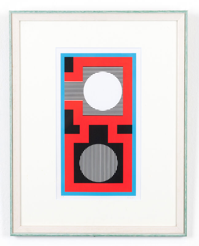 Kumi Sugaï, 'Signale E', 1976, Print, Silkscreen, H.ARTS COLLECTIVE