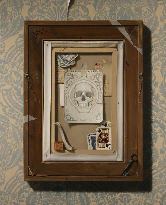 Tony Curanaj, 'The Vanitas of Hamlet', 2010, Painting, Oil on canvas, Joshua Liner Gallery