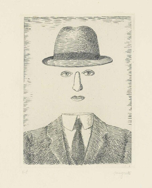 René Magritte, 'Paysage de Baucis', 1966, Print, Etching on wove paper, Christie's