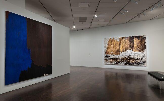 Shade: Clyfford Still/Mark Bradford, installation view