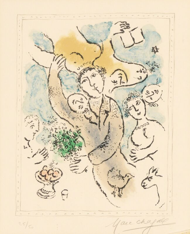 Marc Chagall, 'L'artiste I', 1978, Print, Lithograph in colors on wove paper, Heritage Auctions