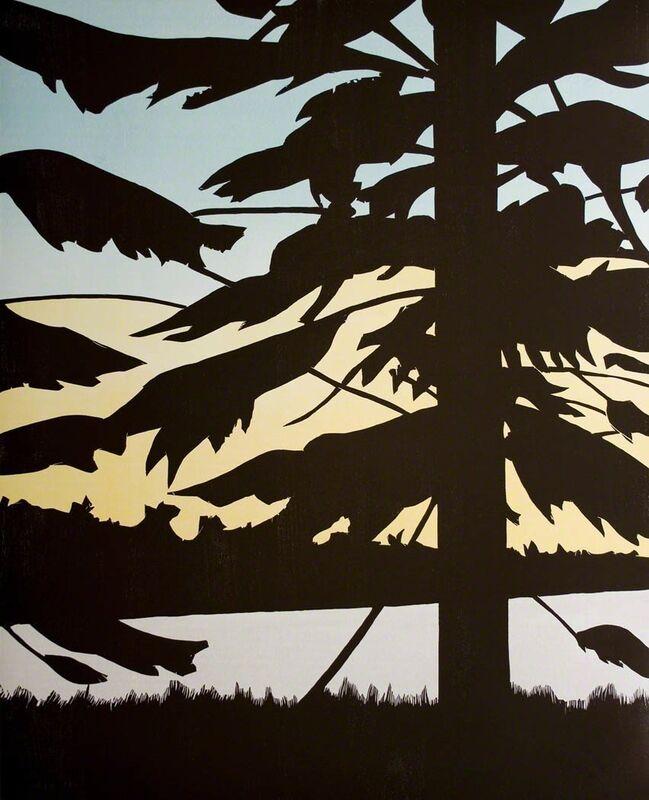 Alex Katz, 'Twilight 1', 2009, Print, Woodcut, Betsy Senior Fine Art