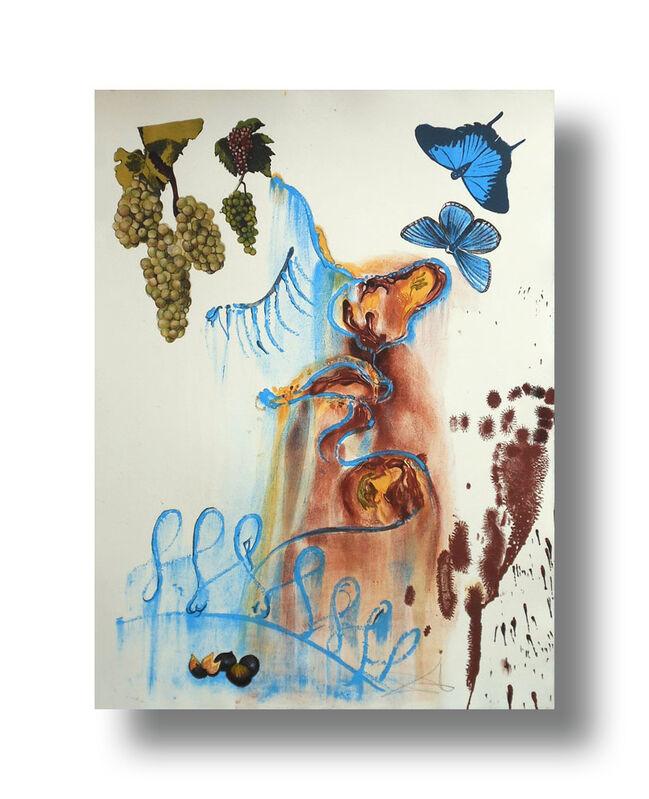 Salvador Dalí, 'Les Saisons - Summer', 1972, Print, Lithograph, Animazing Gallery