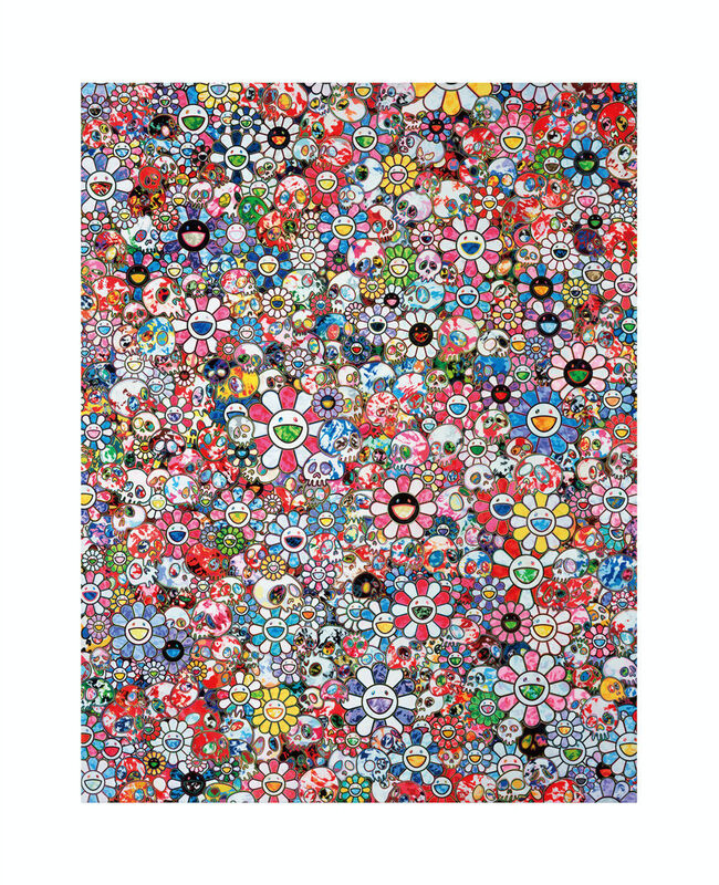 Takashi Murakami, '∞∞∞', 2020, Print, Archival Pigment Print on Canson Velin, Cotton Rag Paper with deckled edges, Pinto Gallery