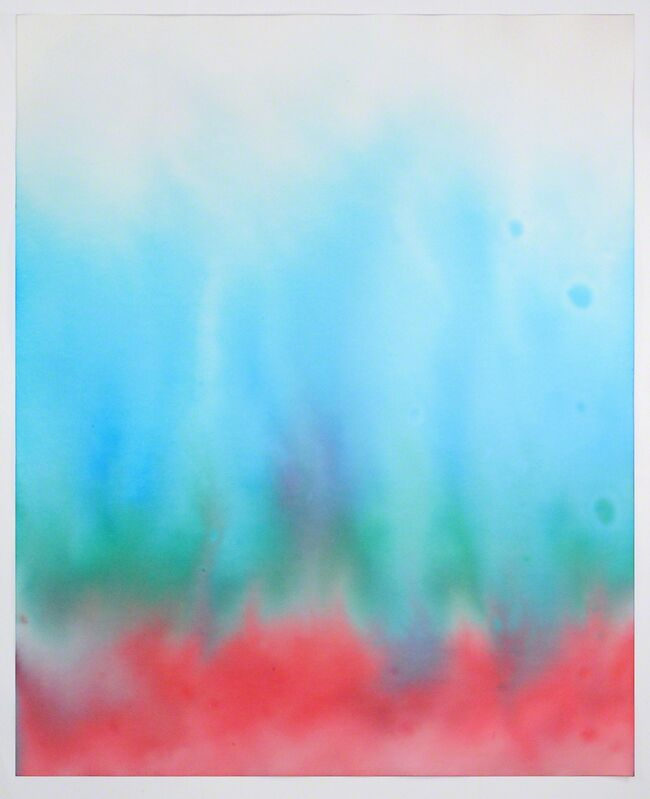 Ben Weiner, 'Viagra Drawing #1', 2014, Drawing, Collage or other Work on Paper, Ink on chromatography paper soaked in Viagra solution, Grey Area