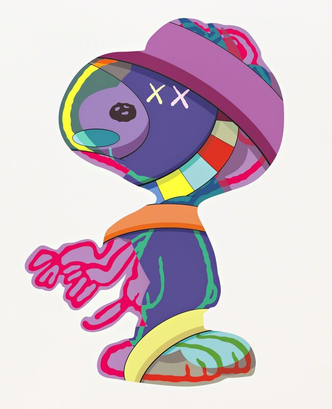 KAWS, 'THE THINGS THAT COMFORT', 2015, Print, Screenprint on Saunders Waterford 425gm HP, Free Arts NYC Benefit Auction
