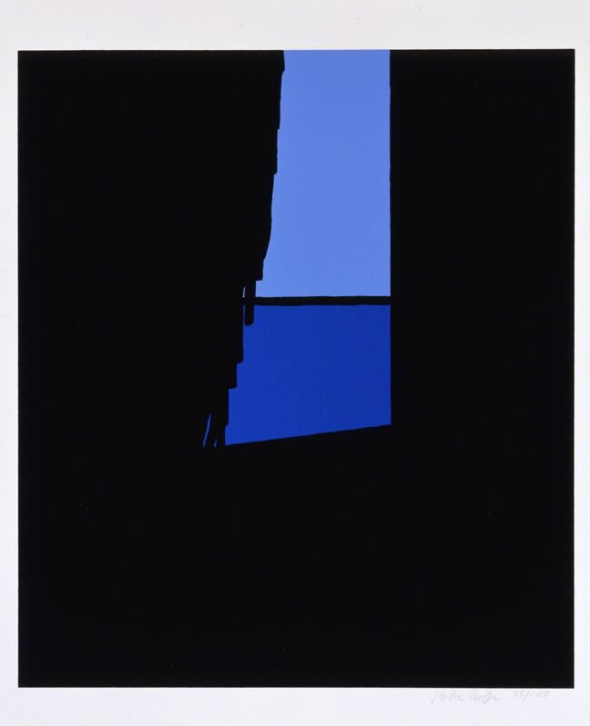 Patrick Caulfield, 'And, with my eyes bolting toward the Unconscious', 1973, Print, Screenprint, Cristea Roberts Gallery