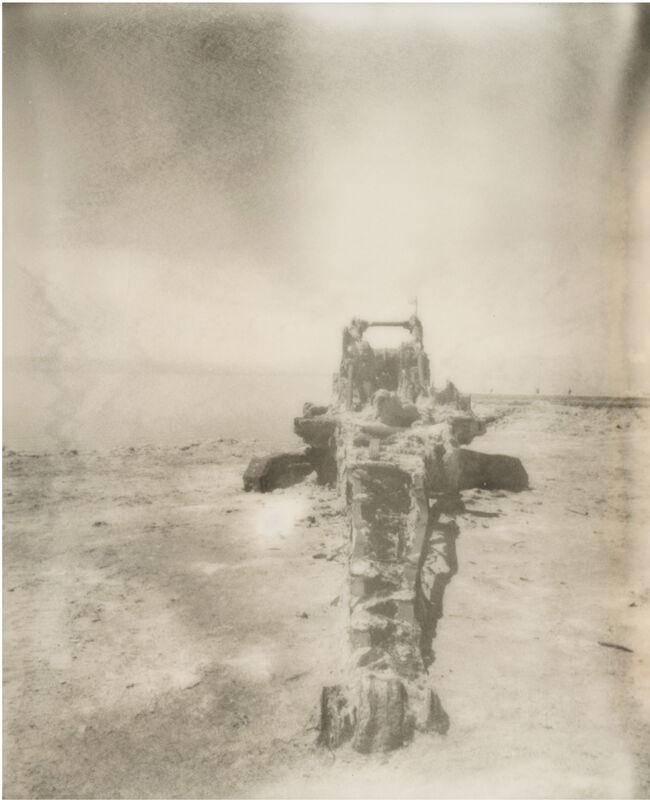 Stefanie Schneider, 'Salton Sea Destruction II (California Badlands)', 2016, Photography, Digital C-Print, based on a Polaroid, Instantdreams