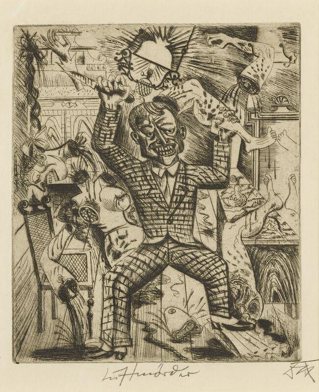 Otto Dix, 'Lustmörder (Karsch 14)', Print, Etching, Sotheby's