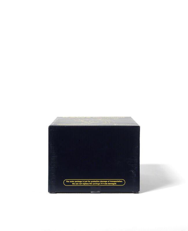 KAWS, 'COMPANION – LAZZARINI VERSION (Black)', 2010, Sculpture, Painted cast vinyl, DIGARD AUCTION