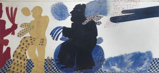 "Alekos Fassianos, '""Petite suite anachronique ou la vie d'anastasios en 24 heures""', 1970"