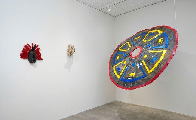 Romuald Hazoumè, installation view