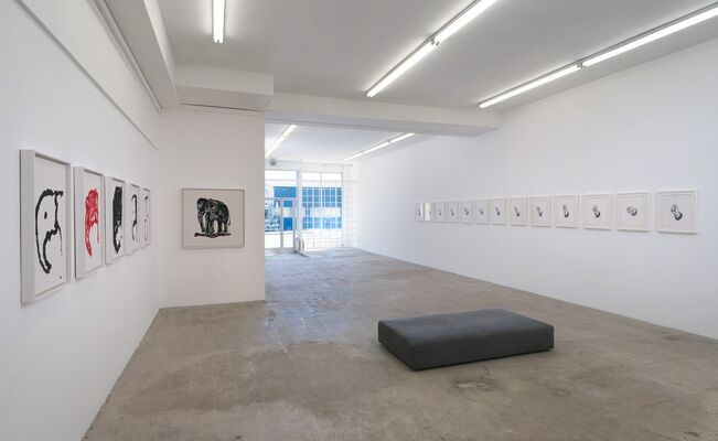 Michael Linares: Was it a rat I saw?, installation view