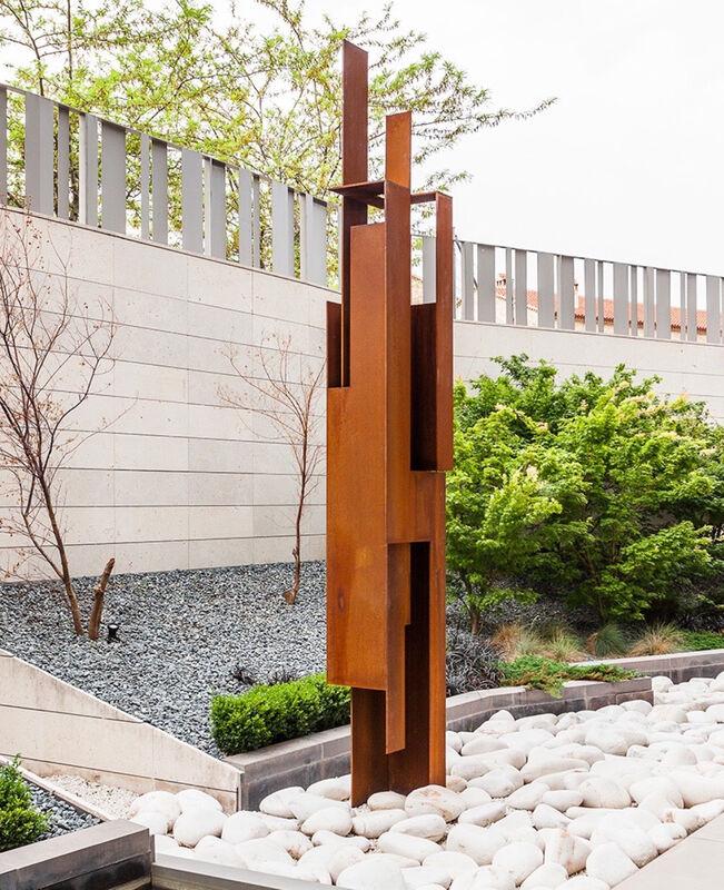 Arturo Berned, 'Soldado II', 2009, Sculpture, Corten steel plate 10MM thick. Oxidized finish, Leon Tovar Gallery