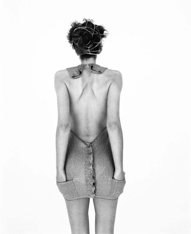 Rankin, 'Krissy Backwards', 1995, Photography, Archival Black & White Lambda Print,  29 ARTS IN PROGRESS gallery
