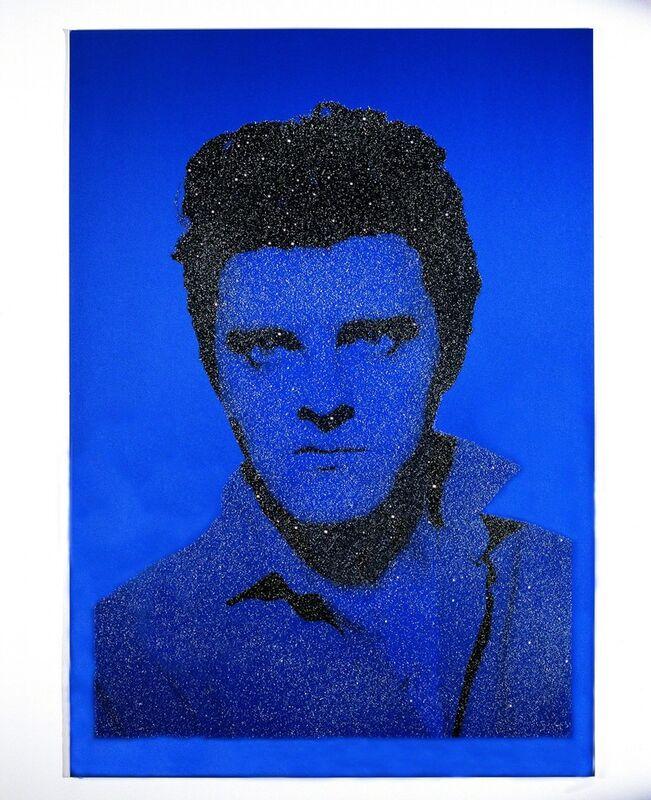 Gavin Turk, 'Jackie Blue Elvis with Diamonds', 2004, Print, Silkscreen on Somerset satin 410gsm, Diamond dust. Signed and numbered, Paul Stolper Gallery