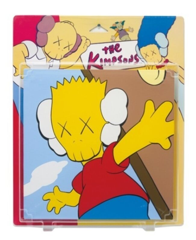 KAWS, 'Untitled (Bart Kimpson)', 2001, Painting, Acrylic on Canvas in Blister Package with Printed Card, Carmichael Gallery