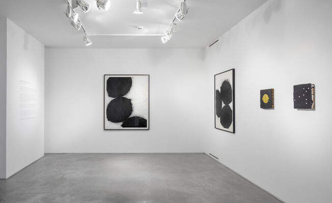 Donald Sultan: Dark Objects, installation view