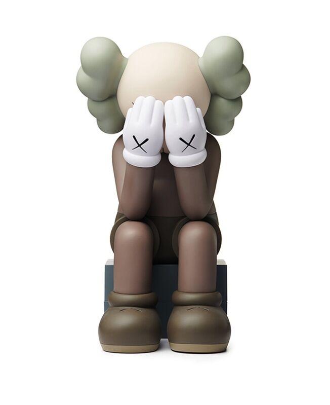KAWS, 'Passing Through Open Edition Vinyl Figure Brown', 2018, Sculpture, Painted Vinyl, ArtLife Gallery