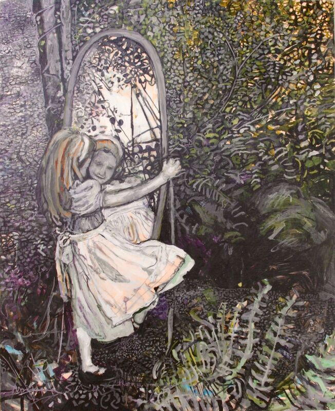 Marjorie Scholl, 'Alice in Wonderland', 2016, Painting, Acrylic on Canvas, McVarish Gallery